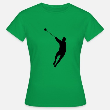 Hammer Throw Hammer Throwing Silhouette (Hammer Throw) - Women's T-Shirt