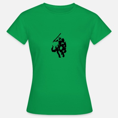 Tapestry Knight Silhouette - Women's T-Shirt