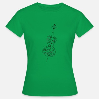 Cello Cello calligraphy - Women's T-Shirt