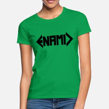 ENAMIC logo black - Women's T-Shirt
