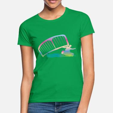 Kiteboarding Love Kiteboarding - Frauen T-Shirt