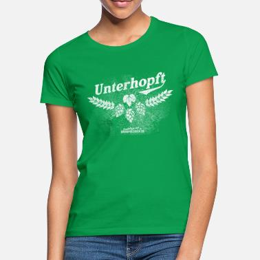 Distressed Unterhopft, distressed - Frauen T-Shirt