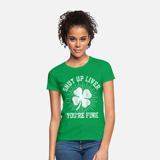 St Patricks Day T-Shirts - St. Patrick's Day - Women's T-Shirt kelly green