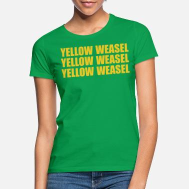 Green Bay Packers Green Bay Packers gul veasel T-shirt - T-shirt dame