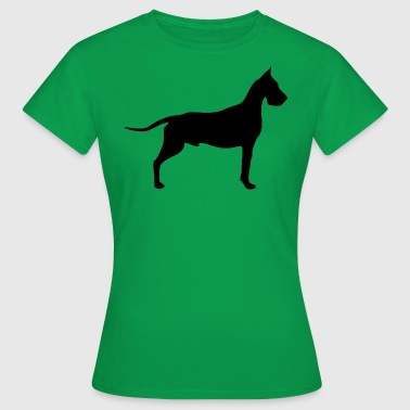 Great Dane - Dame-T-shirt