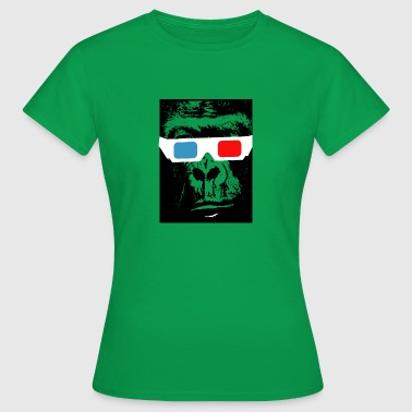 3D chimp - Women's T-Shirt