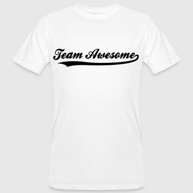 Team awesome! - Ekologisk T-shirt herr