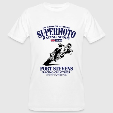 Supermoto Racing - T-shirt ecologica da uomo