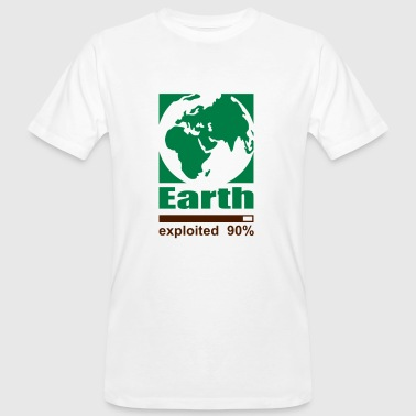 Earth exploited - Ekologisk T-shirt herr