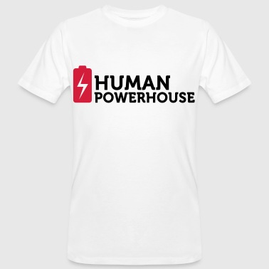 Human Powerhouse - Mannen Bio-T-shirt