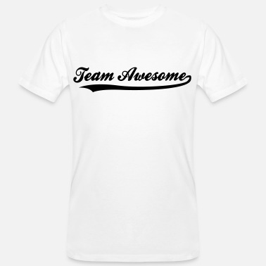 Team Awesome Team awesome! - Ekologisk T-shirt herr
