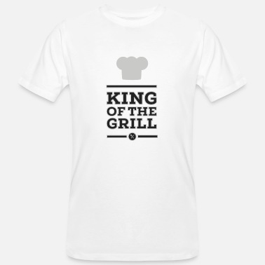 Grill King of the Grill - Mannen Bio-T-shirt
