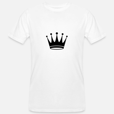 Initials Crown Crown - Men's Organic T-Shirt