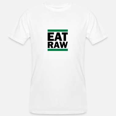 Raw Health Eat Raw - Men's Organic T-Shirt