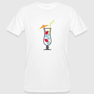 Cocktail Glass A cocktail glass - Men's Organic T-Shirt