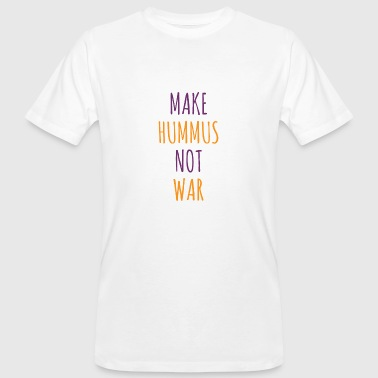 ÜDTK Make hummus not war - Männer Bio-T-Shirt