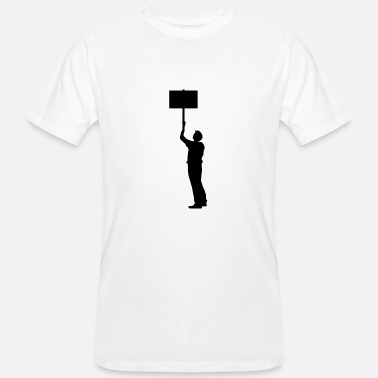 Protest protester - Men's Organic T-Shirt
