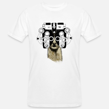 Optotypes Alpaca&Phoropter - Men's Organic T-Shirt