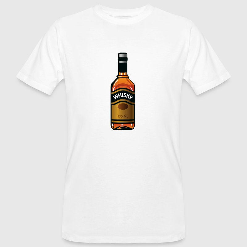 Whiskey bottle - Men's Organic T-shirt