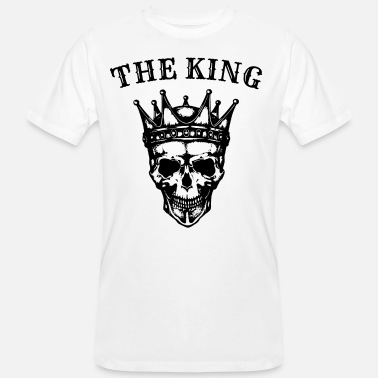 Kings Skull The King Skull Skull King Crown - Men's Organic T-Shirt