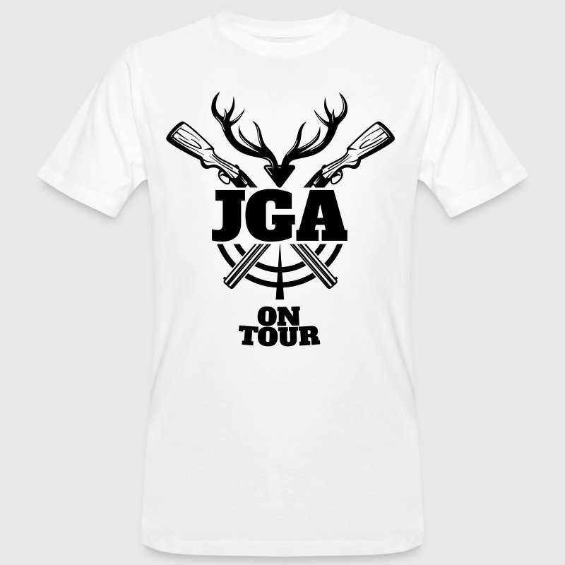 JGA Jagd on Tour - Männer Bio-T-Shirt