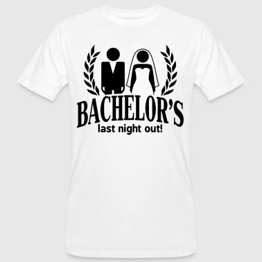 bachelor's last night out - Junggesellenabschied - Men's Organic T-shirt