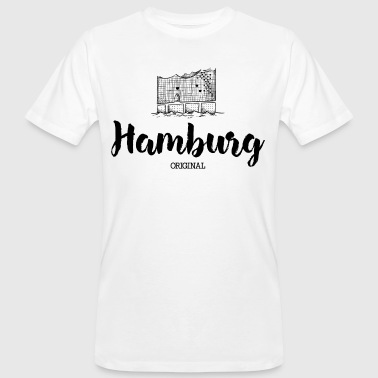 Hamburg Elbe - Men's Organic T-shirt