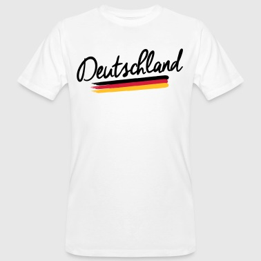 Germany - Germany - Federal Republic of Germany flag - Men's Organic T-Shirt