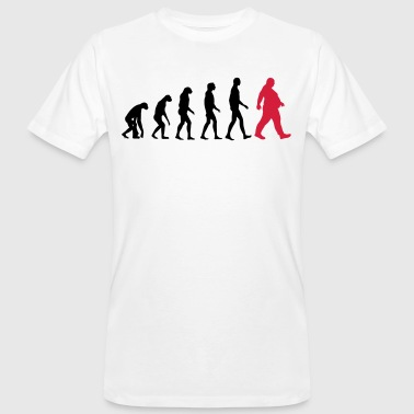 Bold evolution - of whom are obese - obese - Dick funny - Men's Organic T-Shirt