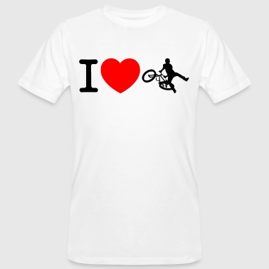 I love bmx bike - Men's Organic T-shirt