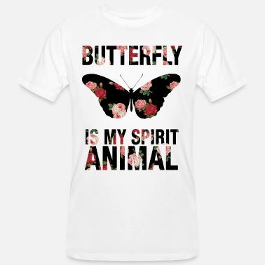 Butterfly Fish Butterfly My Spirit Animal Animal Animals Insect - Men's Organic T-Shirt