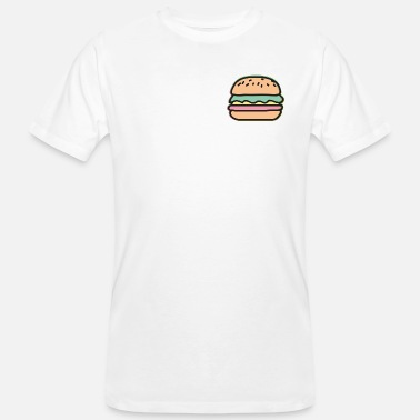 Illustration Burger Illustration - Männer Bio T-Shirt
