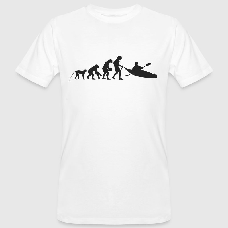 Evolution Boot - Männer Bio-T-Shirt