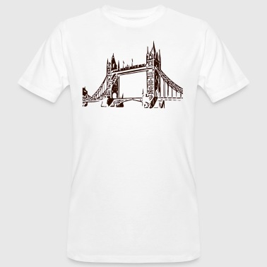 Tower Bridge Tower Bridge - Männer Bio-T-Shirt