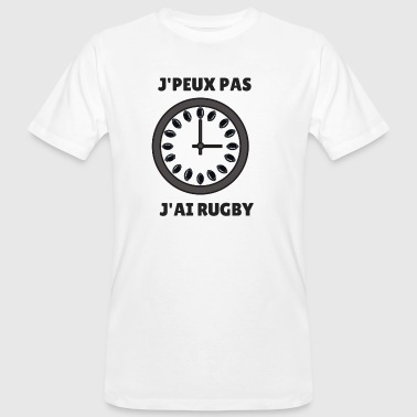 I Can Not I Have I can not I have rugby - Men's Organic T-Shirt