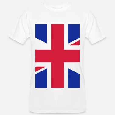 Uk Flag UK England Great Britain Flag - Men's Organic T-Shirt