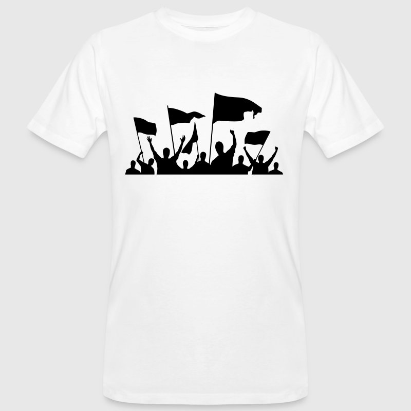 Demonstration / protest - Men's Organic T-shirt