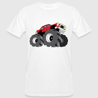 Grossesse Foot Big Foot - Monster Truck - T-shirt bio Homme