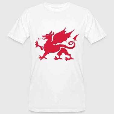 walesdragon one colour - Men's Organic T-Shirt