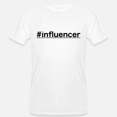 Influence #influencer - T-shirt bio Homme