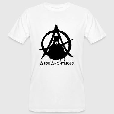 Anonymous - A are Anonymous - We are legion - Men's Organic T-Shirt