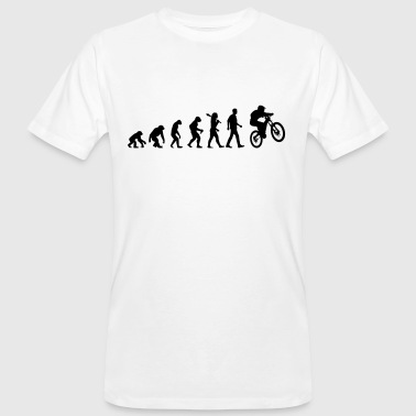 Evolution Of Biking - Männer Bio-T-Shirt