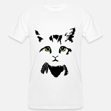 Colours cat, kitten - 2 colours - Camiseta ecológica hombre