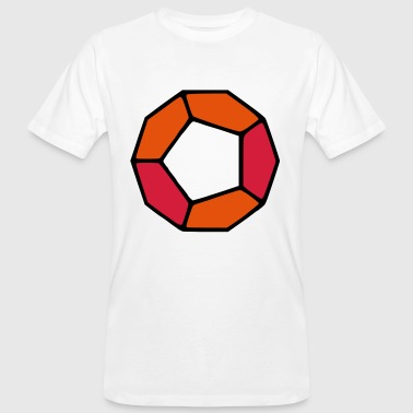 DODECAHEDRON / DODEKAEDER - Men's Organic T-Shirt