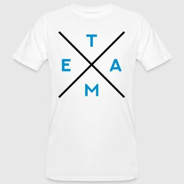 TEAM - Mannen Bio-T-shirt