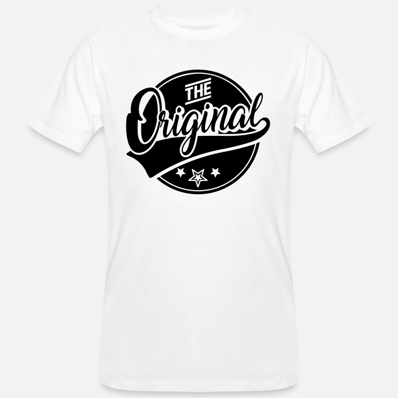 Original Camisetas - The Original - Das Original - The Remix - Familie - Camiseta orgánica hombre blanco
