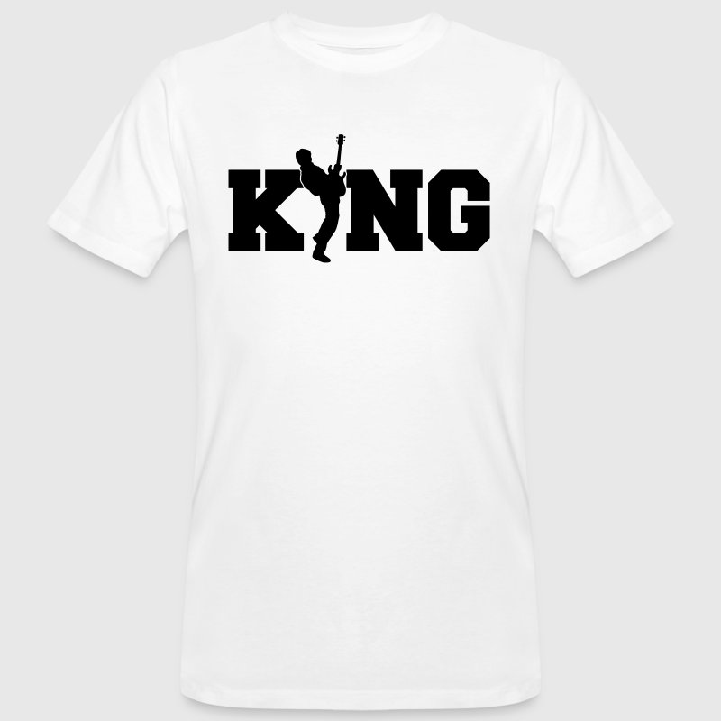 Bass King - bassist - band - rock - music - King - Men's Organic T-shirt
