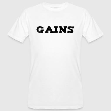 GAINS - T-shirt bio Homme