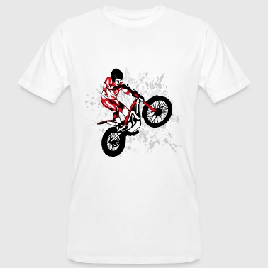Motorcycle Trial Trial Racing - Men's Organic T-Shirt