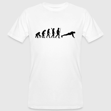 FITNESS FLAVOUR EVOLUTION SHIRT (NO PAIN NO GAIN BITCHES) - Men's Organic T-shirt